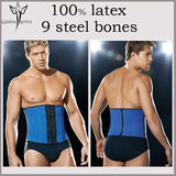7 Sizes Gray/Blue/Pink/Purple/Black/Skin Tone Hook Closure Polyester Latex Corset