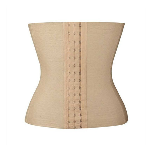 5 Sizes Beige/Black Hook Closure Underbust Acrylic Thermal Cincher