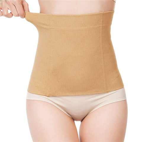 7 Sizes Black/Apricot Underbust Nylon Long Torso Waist Trainer