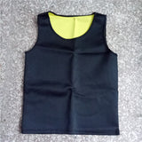 8 Sizes Black/Blue/Green/Orange Nylon Men's Body Shaping Tank Top