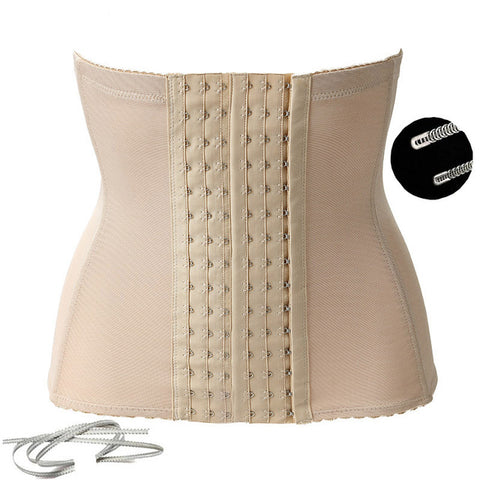 8 Sizes Black/Beige Hook Closure Underbust Polyester Postpartum Cincher