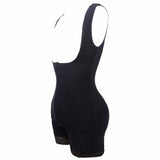 9 Sizes Black/Skin Underbust Spandex Full Body Shaper