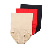 4 Sizes Black/Khaki/Purple/Red Underbust Nylon Girdle Panties