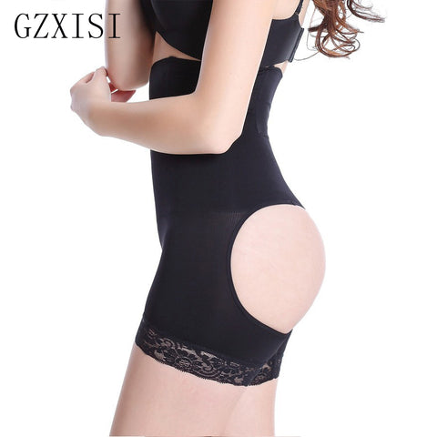 4 Sizes Beige/Black Underbust Cotton Butt Lifter