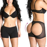 6 Sizes Transparent Apricot/Black Hollow Out Decorated Lycra Butt Trainer