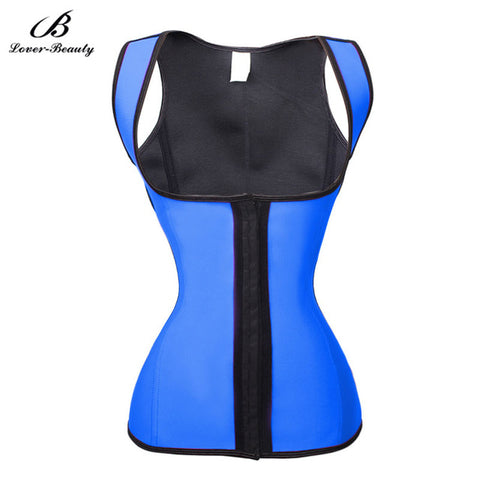10 Sizes Black/Blue/Purple/Pink Hook Closure Underbust with Strap Polyester Long Torso Waist Trainer