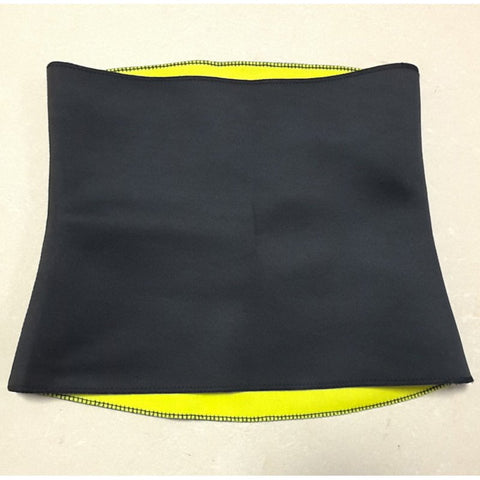 6 Sizes Black and Yellow Underbust Polyester Training Corset