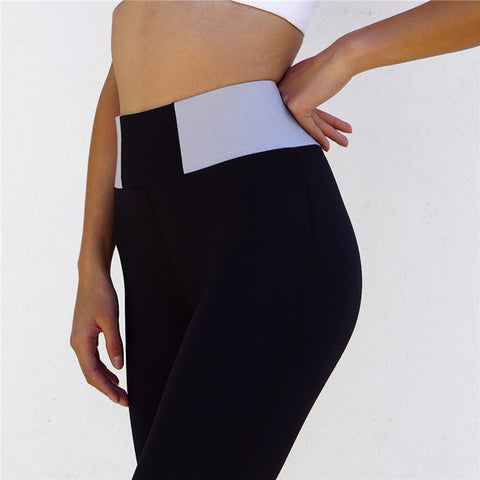 3 Sizes Black/Grey Nylon Tummy Control Pants