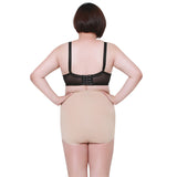 3 Sizes Beige Lace Decorated Underbust Non-woven Plus Size Shapewear