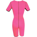 6 Sizes Black/Pink/Purple Zipper Closure Underbust Polyester Weight Loss Bodysuit