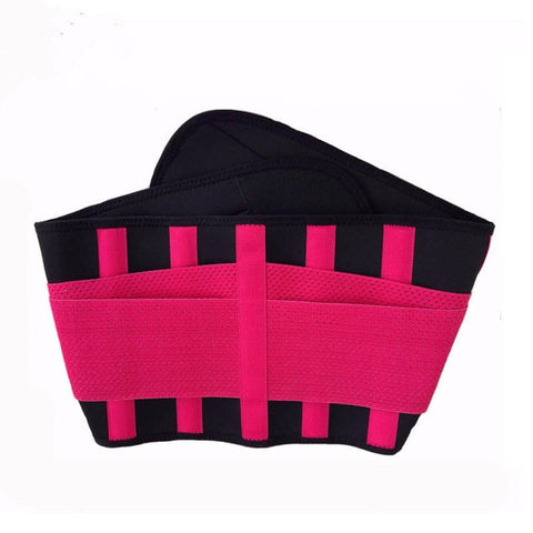 6 Sizes Rose Red/Yellow/Blue/Black/Green/Orange/Pink Velcro Closure Underbust Sport Cincher