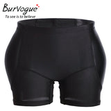 6 Sizes 2 Styles Black/Skin Color Polyester Butt Enhancer