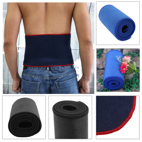 Red/Blue/Black Underbust Neoprene Fabric Sport Waist Trainer