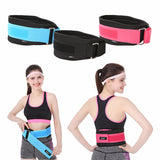 3 Sizes Black/Blue/Rose Velcro Closure Underbust Nylon Waist Trainer Belt