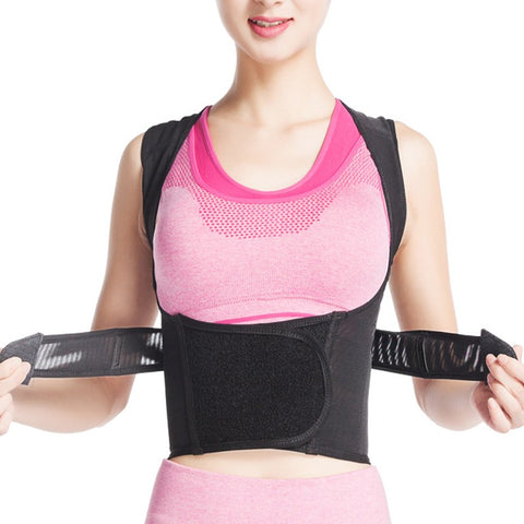 6 Sizes Black Velcro Closure with Support Belt Underbust Nylon Waist Trainers with Back Support