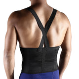 3 Sizes Black Underbust with Strap Nylon Waist Trainers with Back Support