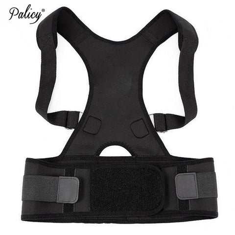 5 Sizes Black Brace Strap Vest Underbust Nylon Men's Waist Trainers with Back Support