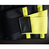 3 Sizes Black/Blue/Yellow/Green Velcro Closure Underbust Polyester Waist Training Wrap