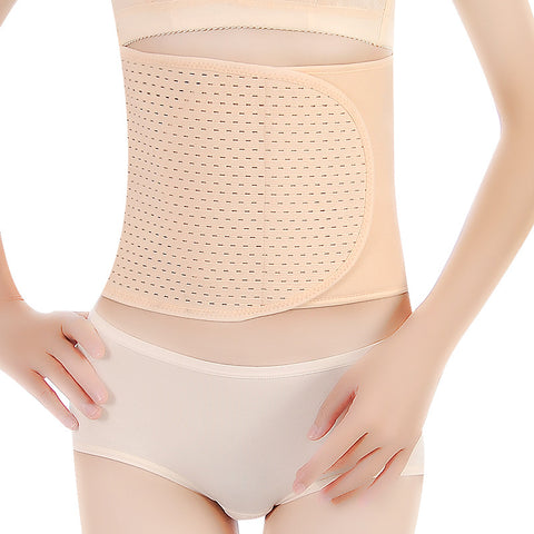 Brown/Black/Beige Mesh Velcro Closure Underbust Cotton After Pregnancy Corset