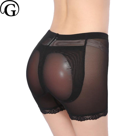 4 Sizes Black/Khaki Spandex Silicone Padded Panties