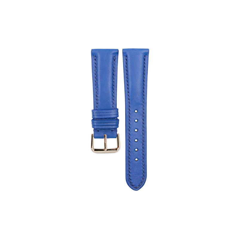 Bright Blue Soft Calf Leather