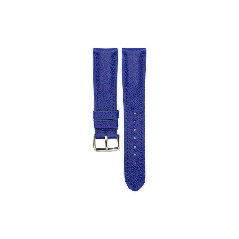 Electric Blue EPSOM Calf Leather