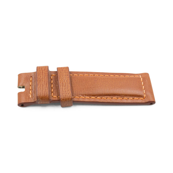 Tobacco Cracked Calf Leather