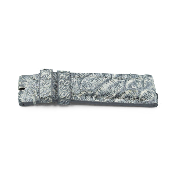 Grey Python Leather - Matte