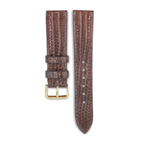 Brown Lizard Leather
