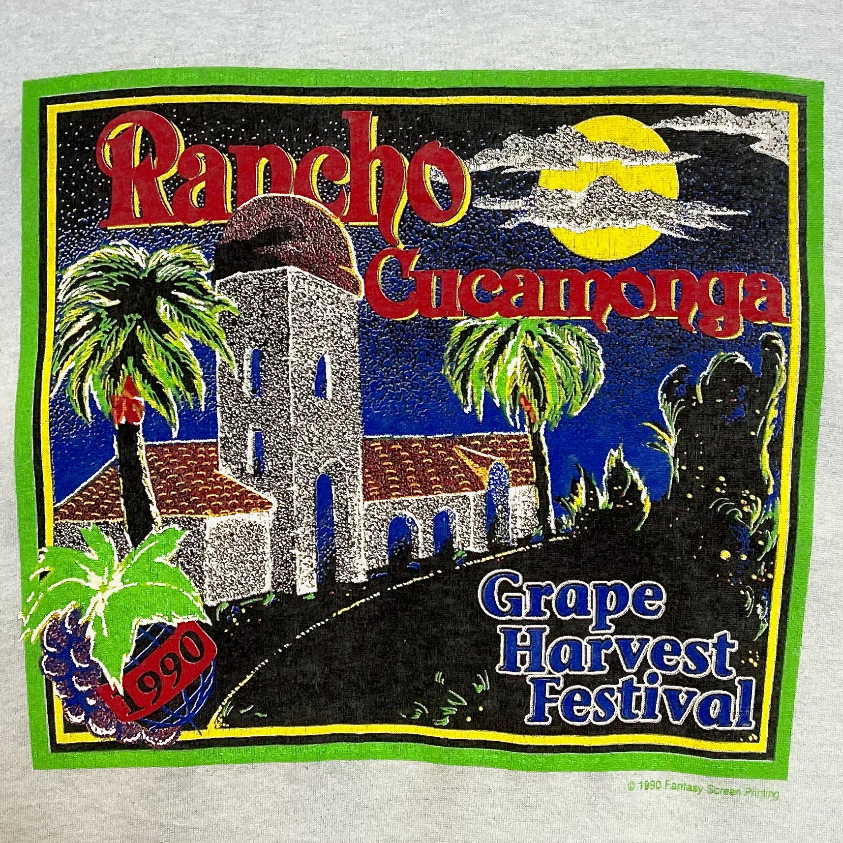1990 GRAPE HARVEST FESTIVAL RANCHO CUCAMONGA (XL)