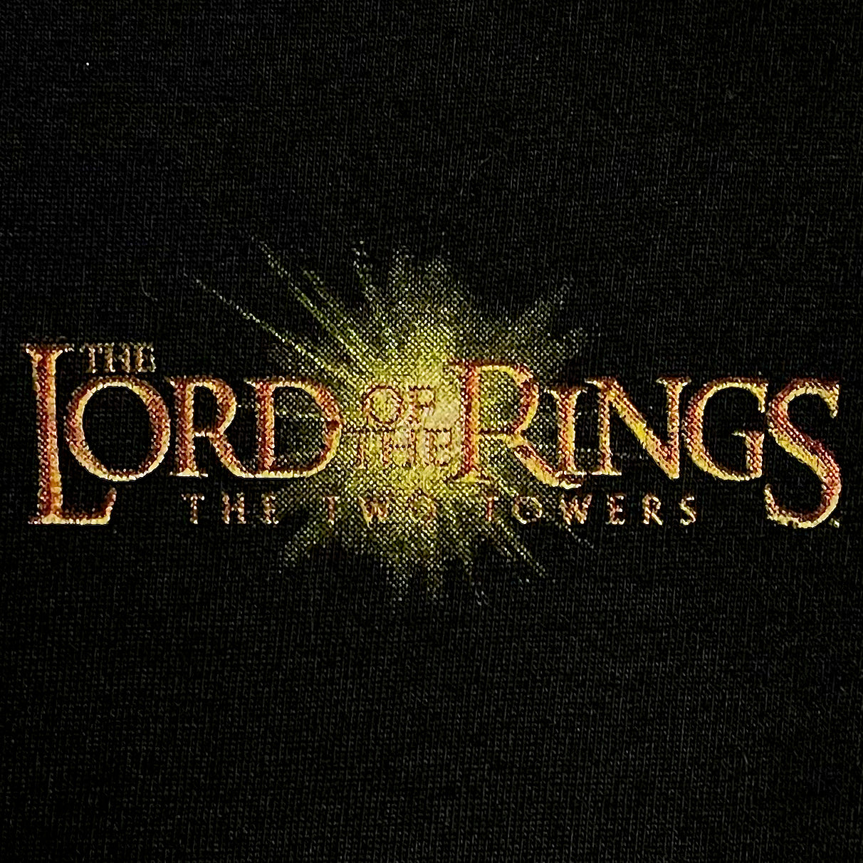 2002 LORD OF THE RINGS: THE TWO TOWERS (SMALL)