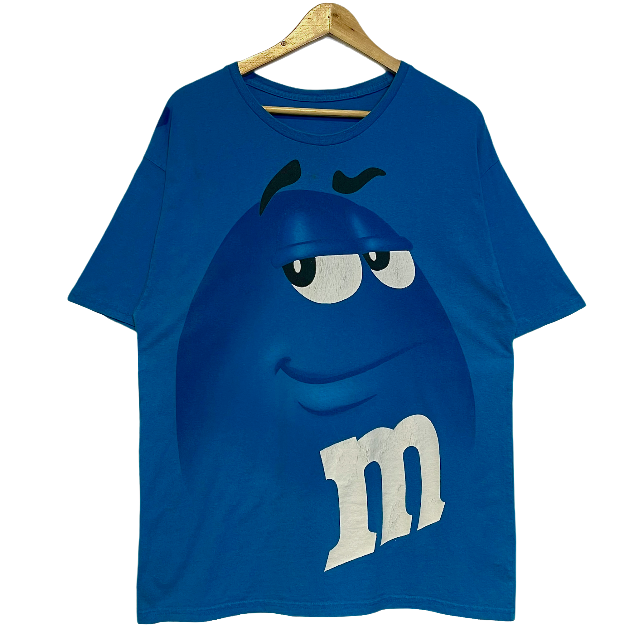 BLUE M&M TEE (LARGE)