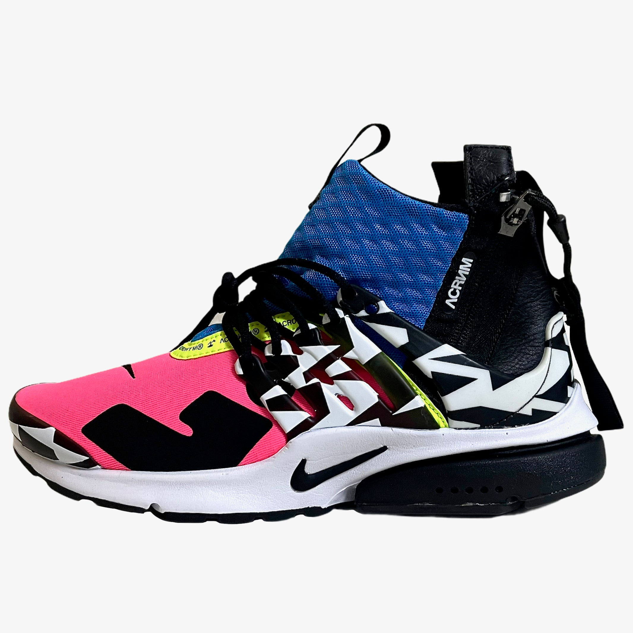 NIKE AIR PRESTO MID ACRONYM RACER PINK (7 US MEN)