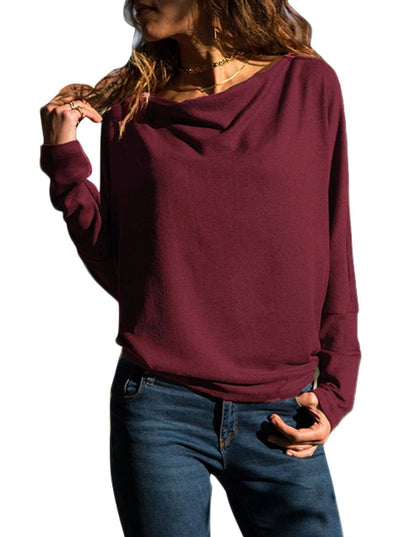 Concise Pullover Sweatshirt (LC251467-3-1)
