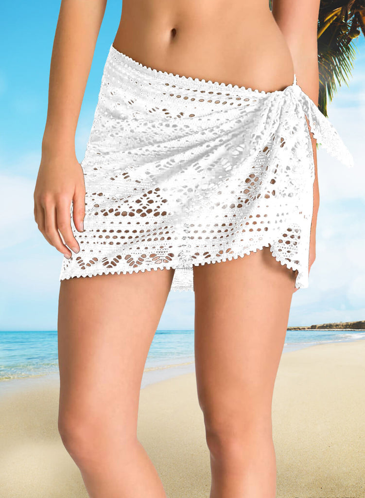 Crochet Sarong Cover up