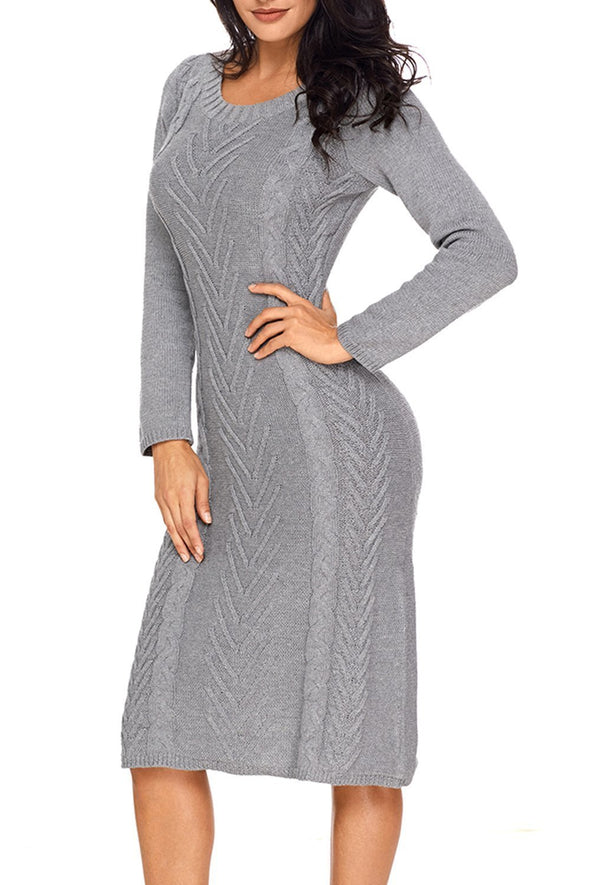 Hand Knitted Sweater Dress