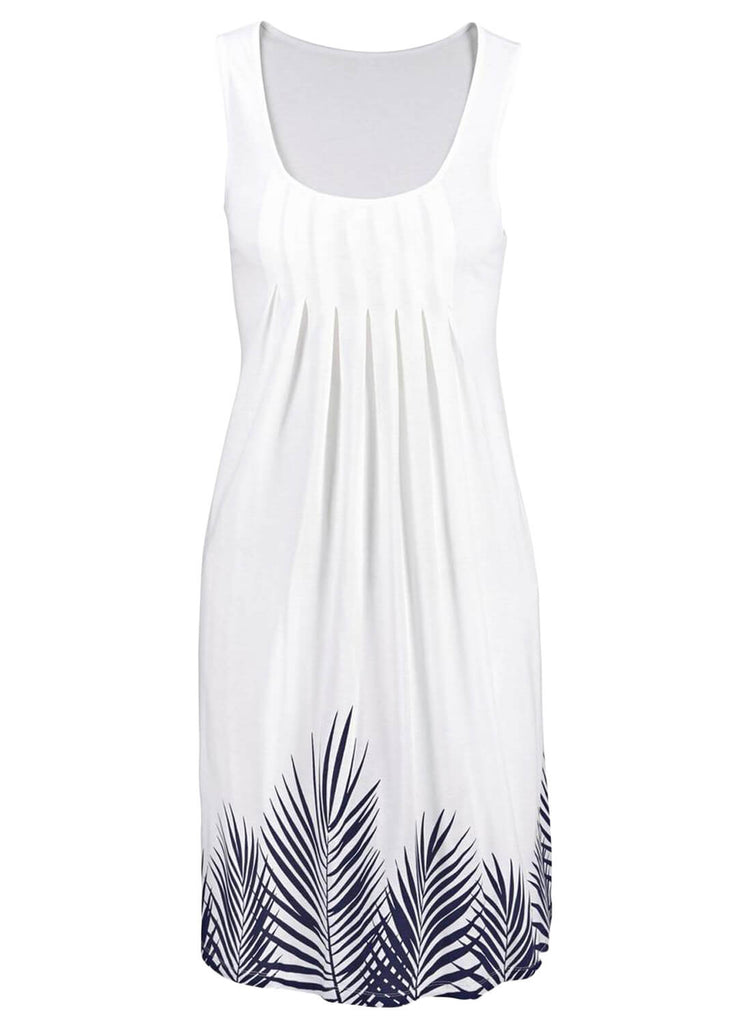 Beachtime Sleeveless Beach Dress (LC220646-1-3)
