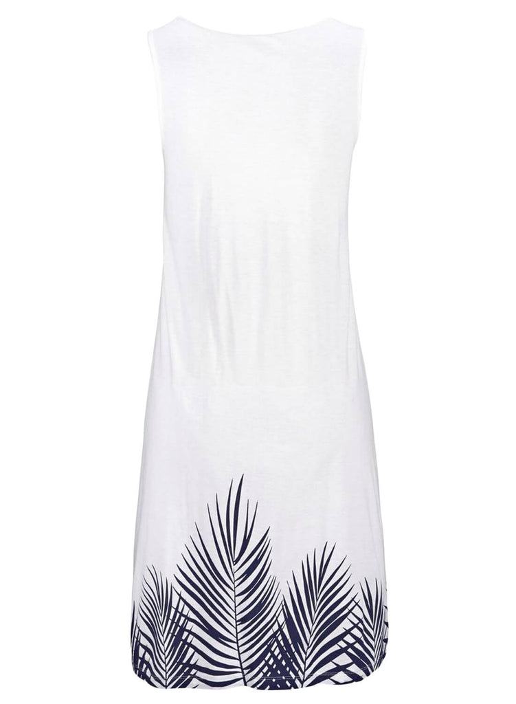 Beachtime Sleeveless Beach Dress (LC220646-1-4)