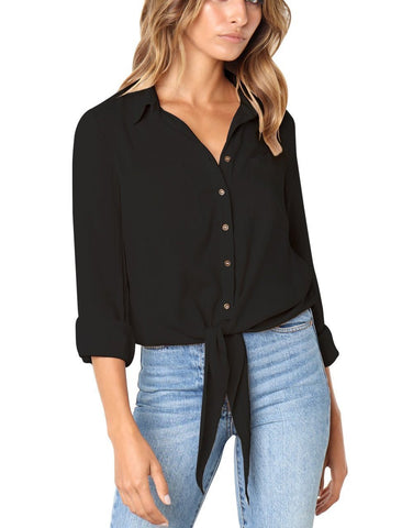 Image of Crushed Linen Button-Down Shirt (LC251116-2-1)