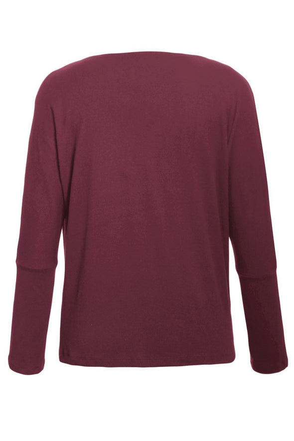 Concise Pullover Sweatshirt (LC251467-3-3)