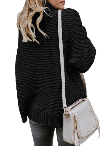 Image of Cozy Long Sleeves Turtleneck Sweater