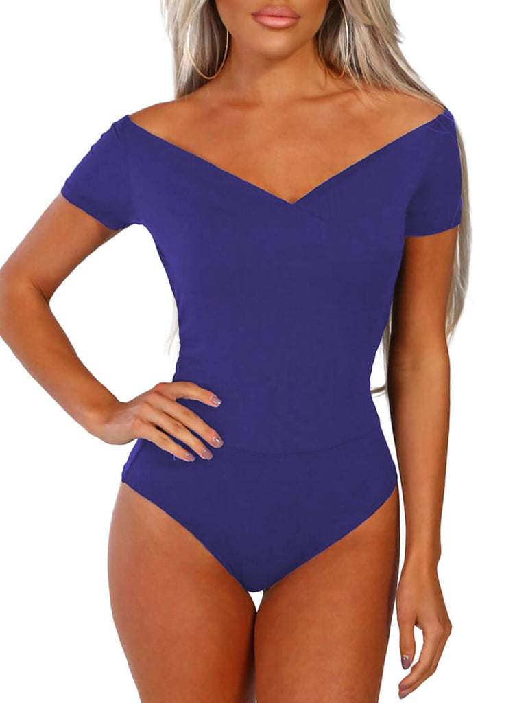 2a6e178aed Hover to zoom · Sexy V-Neck Bodysuit ...