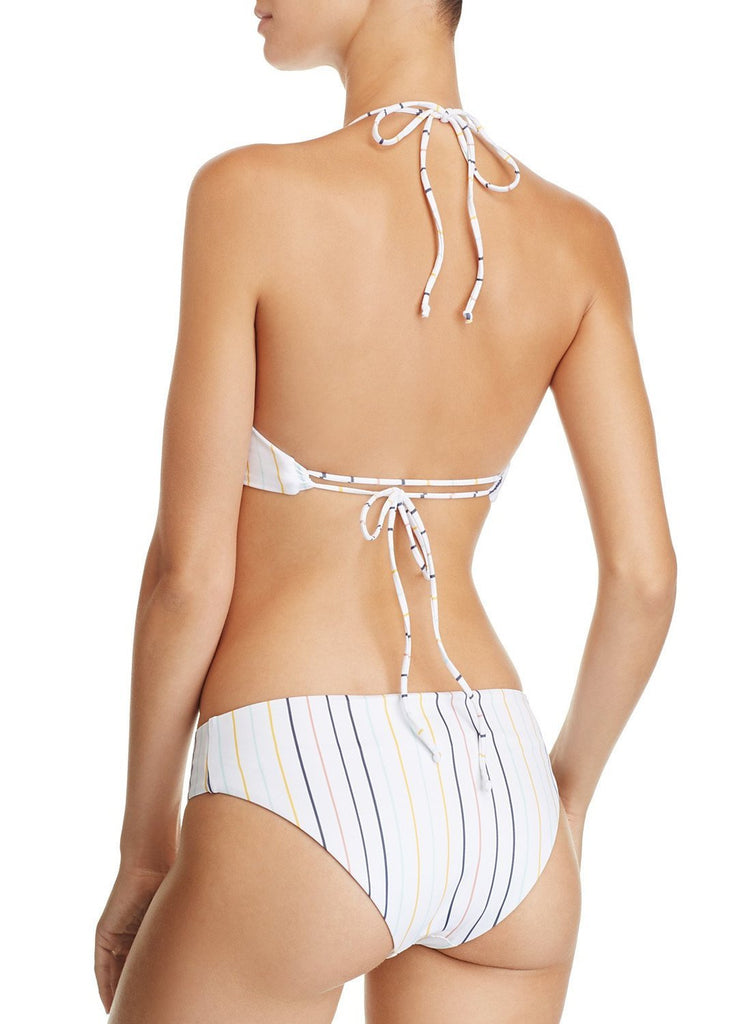 2b21cad6db9b6 Vertical Striped Classic Two Piece Bathing Suit. Hover to zoom
