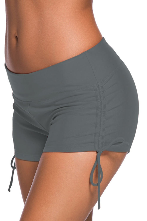 Adjustable Ties Swim Bottom Shorts (LC41986-11-3)