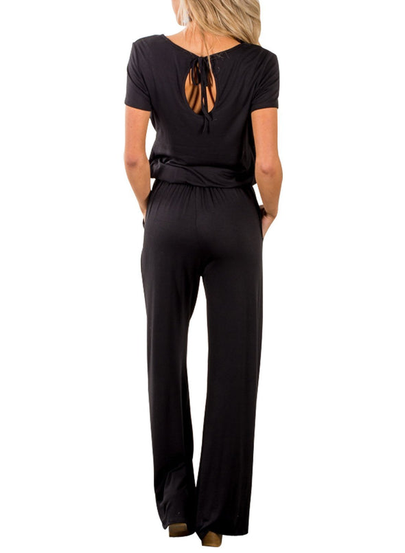 Casual Lunch Date Jumpsuit (LC64388-2-2)