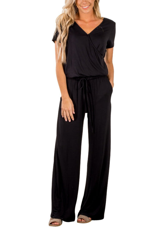 Casual Lunch Date Jumpsuit (LC64388-2-1)