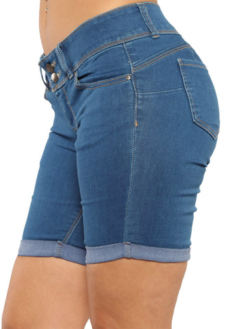 Denim Bermuda Shorts (LC786078-5-3)