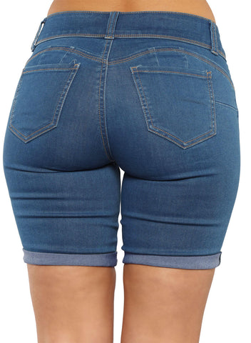 Denim Bermuda Shorts (LC786078-5-2)