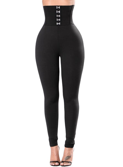 Corset Belt High Waist Leggings (LC79929-2-1)