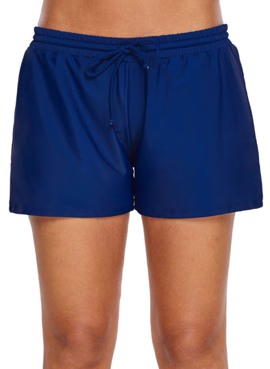 Elastic Drawstring Swim Shorts (LC410833-5-1)